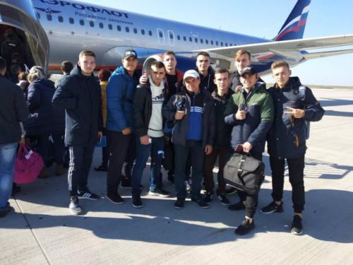 Спортивный обмен в Москву 2018